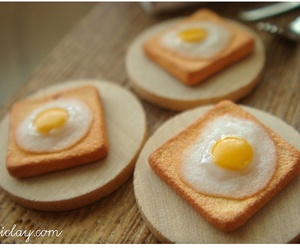 breakfast, eggs, and kitchen image