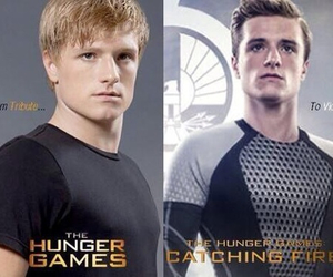 catching fire, hunger games, and josh hutcherson image