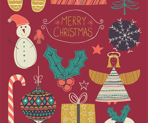 snow, x-mas, and wallpaper image