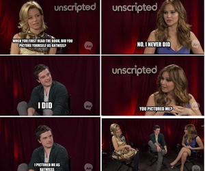 josh hutcherson, Jennifer Lawrence, and lol image