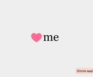 heart, me, and pink image