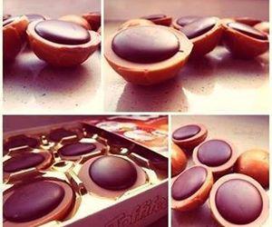 toffifee, chocolate, and sweet image