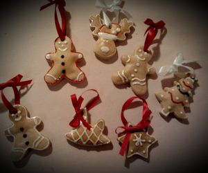 biscuits, christmas, and red image