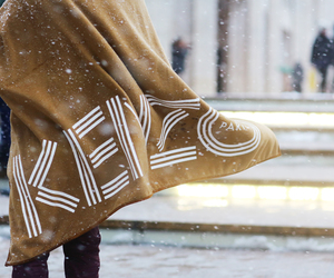 fashion, Kenzo, and snow image
