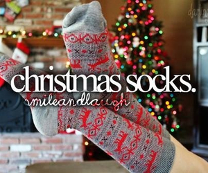 christmas, socks, and christmas socks image