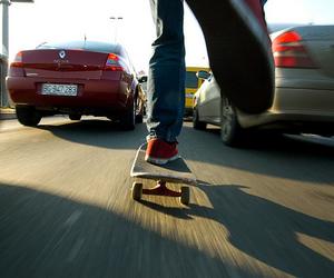 skate, car, and boy image