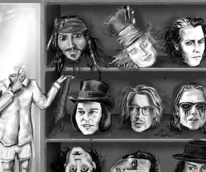 johnny depp, actor, and jack sparrow image