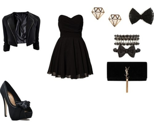 dress, Polyvore, and cute image