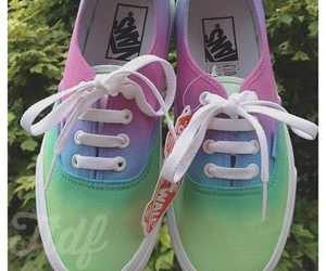shoes, girl, and vans image