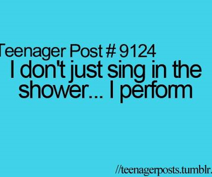 teenager post, funny, and shower image