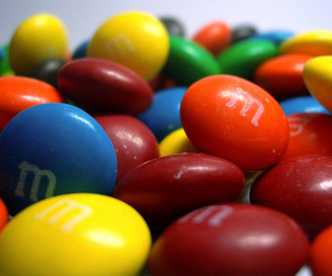 candy, food, and m&ms image