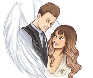 angel, cory monteith, and glee image