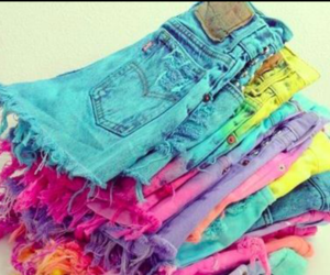 colorful and shorts image