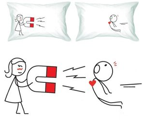 heart, gift, and pillow image
