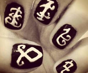 nails, the mortal instruments, and runes image