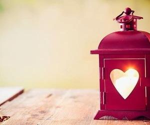 heart, light, and lantern image