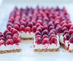 raspberry, food, and sweet image
