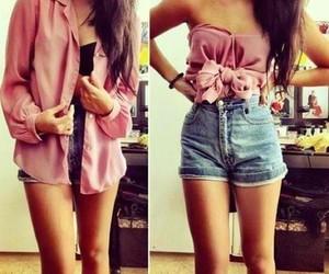 pink and shirt image