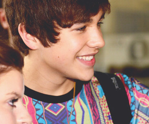 austin mahone, fans, and happy image
