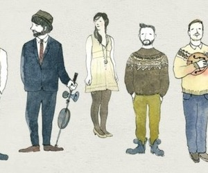 hipster, instruments, and music image
