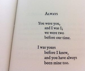 always, love, and book image