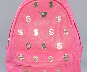$, backpack, and money image