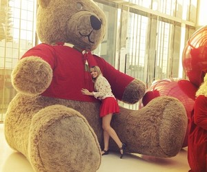 big, teddy, and love image