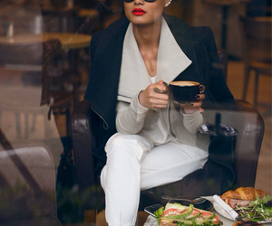 fashion, coffee, and classy image