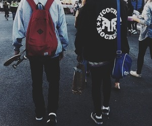 skate, boy, and hipster image