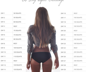 ass, fitspo, and exercise image