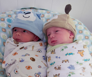 babies, twins, and twin boys image