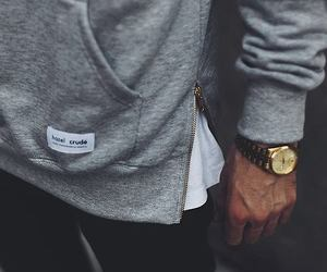 man, style, and watch image