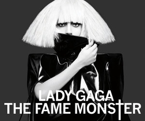 Lady gaga, monster, and the fame monster image
