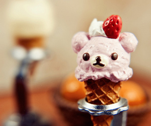 cute, ice cream, and food image