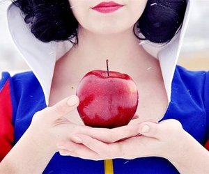 apple, awesome, and snow white image