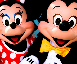 couple, mickey, and minnie image