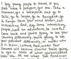 travel, quotes, and henry rollins image
