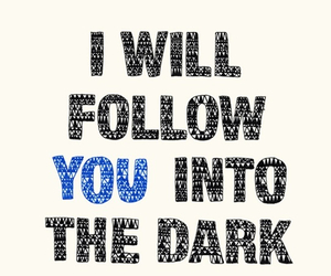 dark, love quotes, and follow image