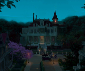 disney, venue, and princess and the frog image
