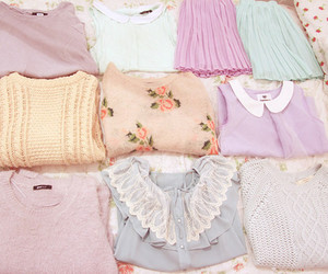 pastel, clothes, and girly image