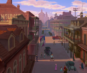 disney, town, and venue image