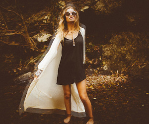 fashion, girl, and hipster image