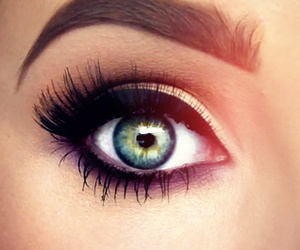 blue, eye, and jaclyn hill image