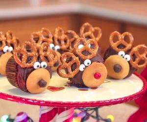 christmas, food, and cupcake image