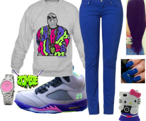 outfits, jordans, and pink image