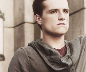 josh hutcherson, the hunger games, and peeta mellark image