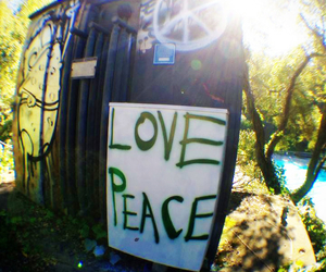 peace, love, and good vibes image