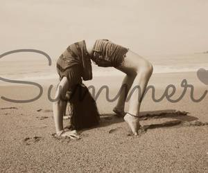 beach, girl, and hipster image