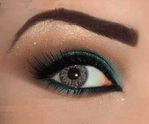 beautiful, eyebrow, and eye image