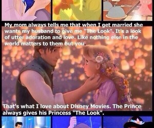 disney princess, true love, and the look image